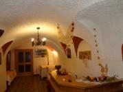 Eingangsbereich mit Rezeption von unserem Gasthof